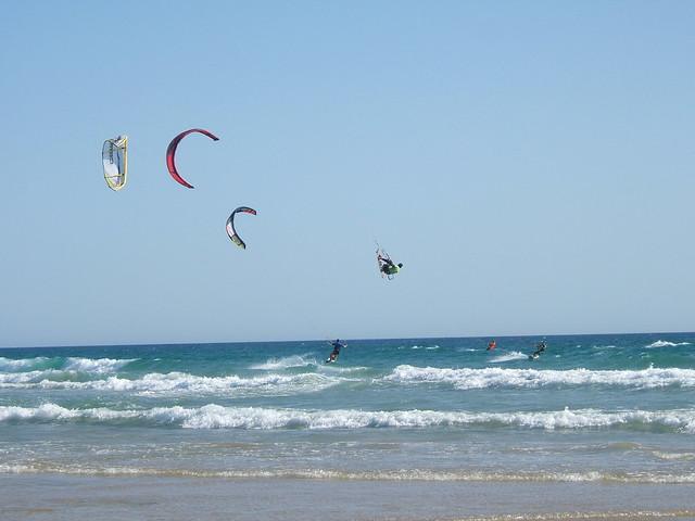 Skate Surf en Conil Opss... Kitesurf!!!