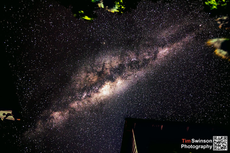 Milky Way in the back yard