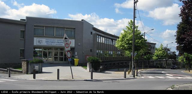 L'école communale de Xhovémont-Philippet