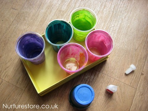 diy art caddy