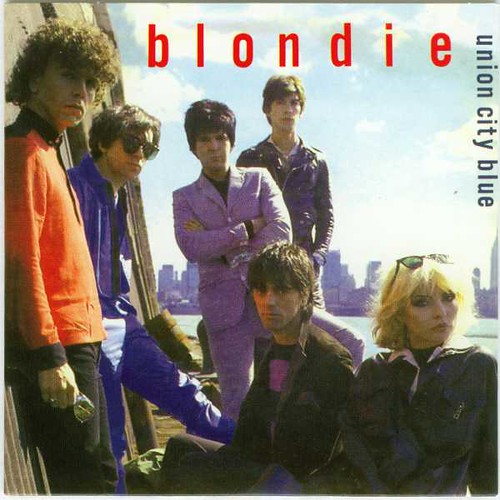 "Blondie - Union City Blue/Living In The Real World - UK 7"" Picture Sleeve (1979)"
