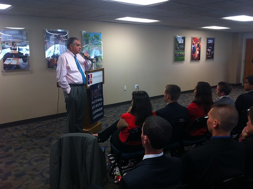 NSLC NSEC and POLI Students with Transportation Secretary LaHood