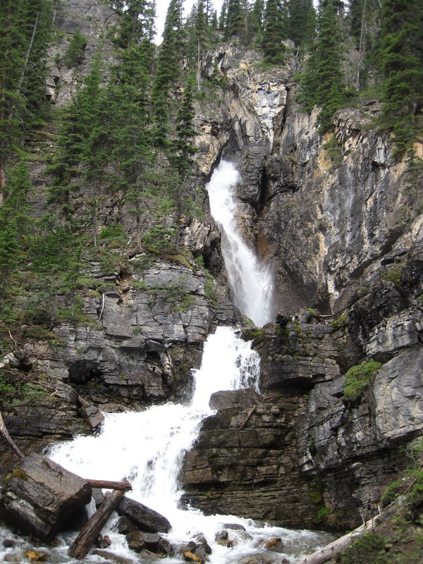 Waterfall above Luellen Lake