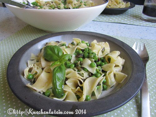©Peas with Pasta, Basil and Pumpkin Seeds (3)