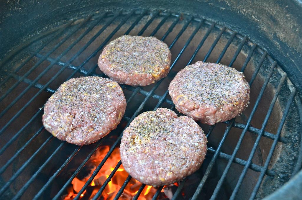Bacon Cheddar Burgers