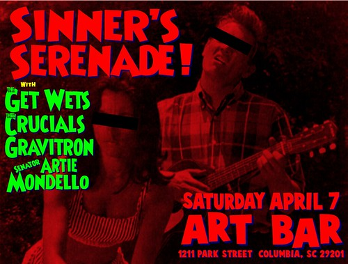 Sinner's Serenade at Art Bar April 7th!