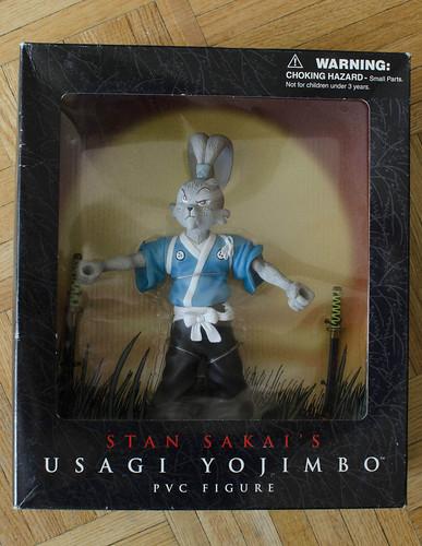 "DARK HORSE COMICS :: ""STAN SAKAI'S USAGI YOJIMBO"" PVC FIGURE i (( 2003 ))  [[ ebay pic ]]"