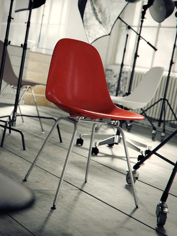 Eames photoshoot