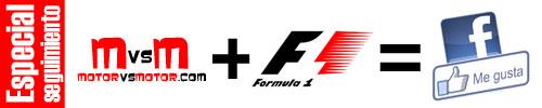 Especial Seguimiento Facebook MotoGP Fórmula 1
