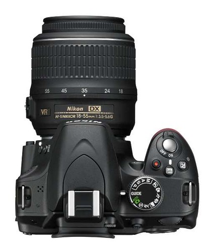 The Nikon D3200... stylish and a new standard in size and power!