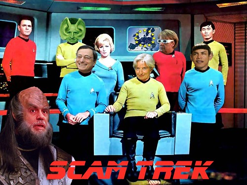 SCAM TREK (OPEN CAPTION) by Colonel Flick