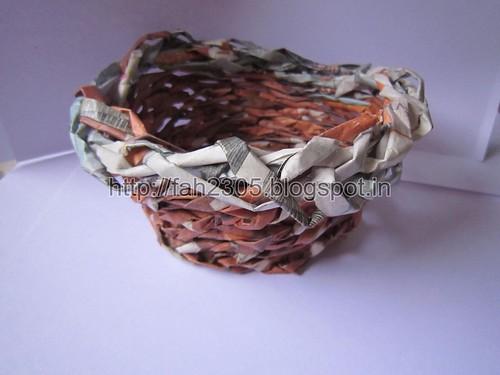 Handmade Paper Basket (2) by fah2305