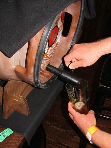 Pouring from the firkin (02)