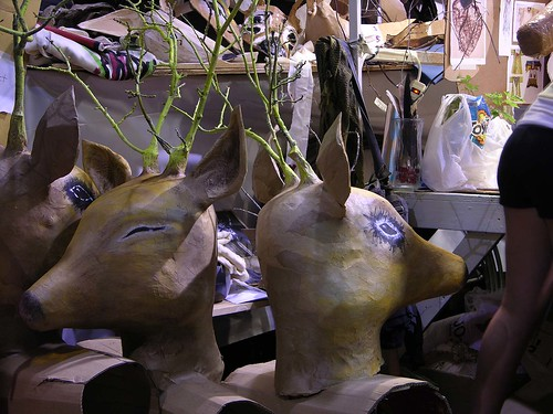 MayDay 2012 deer heads in ready