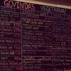 Veggie Cheesesteak at Govinda's