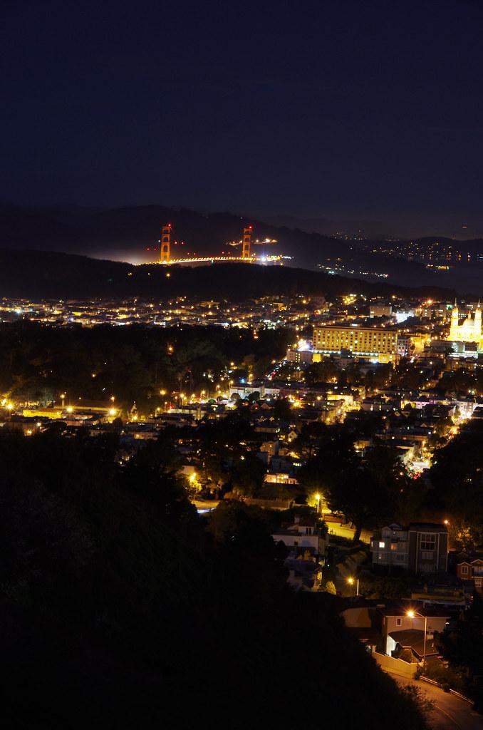舊金山夜景