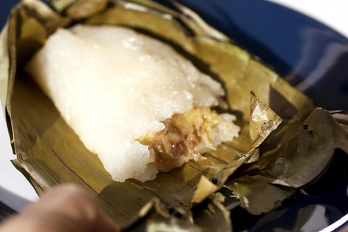 sticky rice w/ banana @ bhan kanom thai