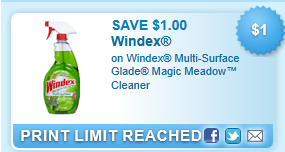 $1.00 Off Windex Multi-surface Glade Coupon