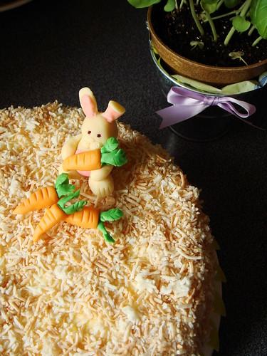 Mango Coconut Carrot Cake: Hippity Hop