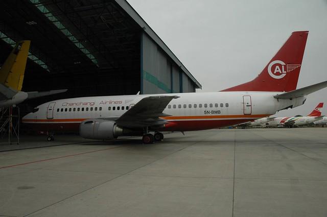 Chanchangi's sole 737-300