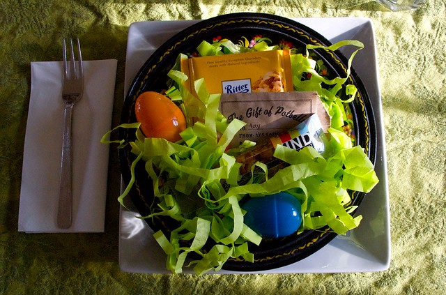 tays easter plate