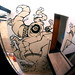 MURAL EN EL ANTHRO by ::METRALLO::
