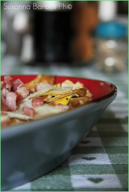 insalata carciofi, pancetta e pecorino