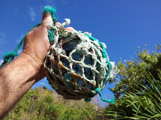 Glass Ball found in Barbuda