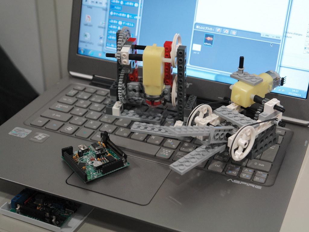 "NanoBoard demo with ""Scratch"""