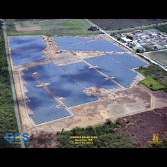 Puerto Rico solar park progress #construction #puertorico #projects #engineering #solar #electrical #photovoltaic #instagram  almost done
