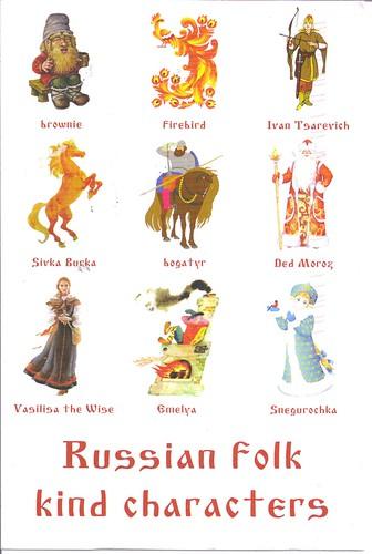 Russian Folk Characters