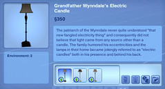 Grandfather Wynndale's Electric Candle