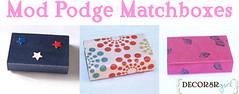IC - box - Mod Podge Matchboxes