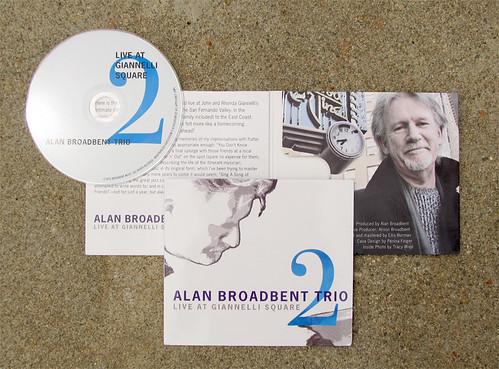 Alan Broadbent Trio CD Package