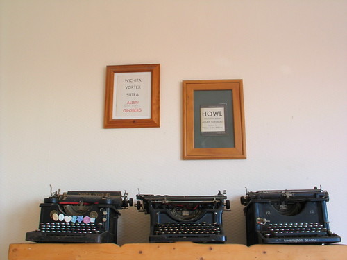 Ginsberg & typewriters