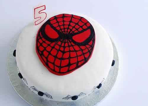spidey-cake