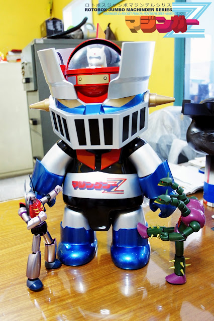 Rotobox Jumbo Machinder Mazinger Qee
