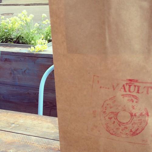 The Doughnut Vault branding