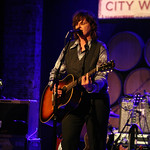 Sun, 15/04/2012 - 9:12pm - Amy Ray brings a stellar band to perform for WFUV Marquee Members, April 15, 2012. Hosted by Rita Houston. Photo by Laura Fedele