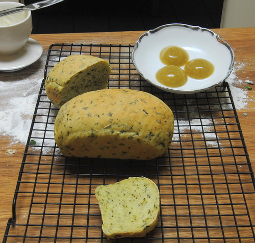 Spinach & Rosemary Bread + Crazy!