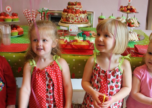 Anara and Charlotte's Birthday Party