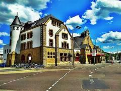 The #Eisenach #train station #yesterday.