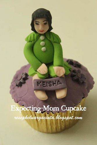 Expecting-Mom Cupcakes