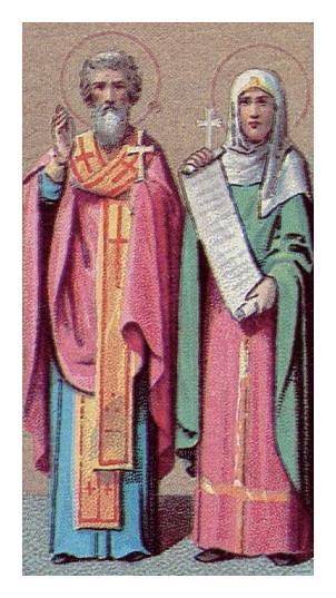 Sts.. ZENOBIUS & ZENOBIA