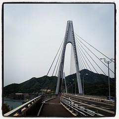 生島橋は二階建てじゃないんですねー