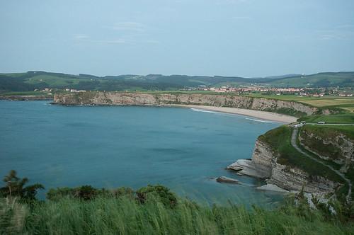 La playa de Langre