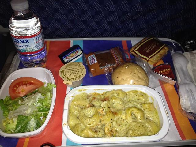 Dinner 1 - AA0236 JFK - FCO