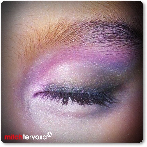 Fairy eye make up