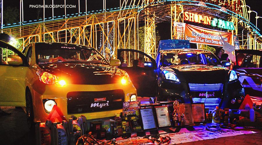 Yellow Myvi Blue Perodua Myvi