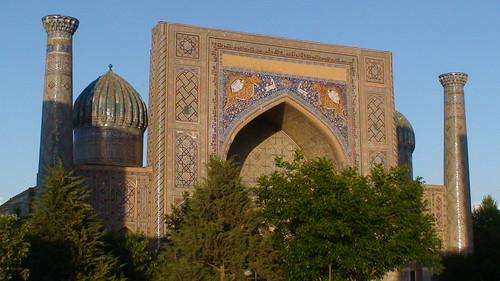 mausoleum tiles cupola uzbekistan samarkand tegel coupole tuiles glazedtiles ouzbekistan mausolée tuilesvernies